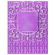 Spellbinders® M-Bossabilities™ 3D Embossing Folder, Ornate Labels 1