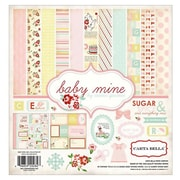 "Echo Park Paper Collection Kit, 12"" x 12"", Carta Bella Baby Mine Girl"