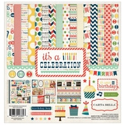 "Echo Park Paper Collection Kit, 12"" x 12"", It's A Celebration"