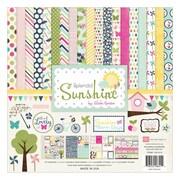 "Echo Park Paper Collection Kit, 12"" x 12"", Splendid Sunshine"