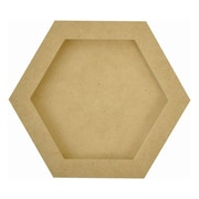 Kaisercraft Beyond The Page MDF Hexagon Frames, 6 x 6 x 3/4
