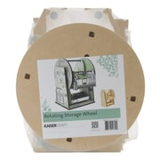 "Kaisercraft Beyond The Page MDF Rotating Storage Wheel, 11"" x 13 3/4"" x 10"""