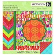 EK Success® K&Company™ Tim Coffey Travel Designer Paper Pad, 12 x 12
