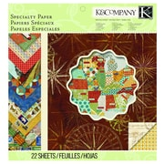 "EK Success® K&Company™ Tim Coffey Travel Specialty Paper Pad, 12"" x 12"""