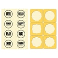 Hampton Art™ 6in. x 4in. Jillibean Soup Stamp & Stencil Set, Seals