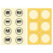 "Hampton Art™ 6"" x 4"" Jillibean Soup Stamp & Stencil Set, Seals"