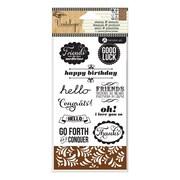 "Hampton Art™ 6"" x 4"" Stamp & Stencil Set, Occasions"