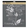 Prima Marketing™ 12in. x 12in. Designer Stencil, Tulip