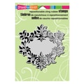 Stampendous® 5 1/2in. x 4 1/2in. Cling Rubber Stamp, Classic Frame