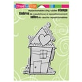Stampendous® 5 1/2in. x 4 1/2in. Cling Rubber Stamp, Penpattern House