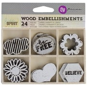Prima Marketing™ Laser Cut Wood Icons
