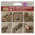 Prima Marketing™ Laser Cut Wood Icons, Stationer's Desk