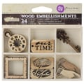 Prima Marketing™ Laser Cut Wood Icons, Time Traveler's Memories