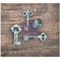 Prima Marketing™ Resin Icon Embellishment, Chalk Black Keys & Key/Lock Sets
