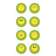 Teacher Created Resources Mini Sticker, Happy Suns Round