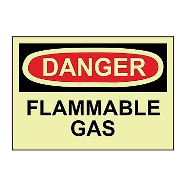 Danger, Flammable Gas, 10
