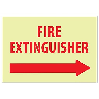 Fire, Fire Extinguisher, Right Arrow, 10