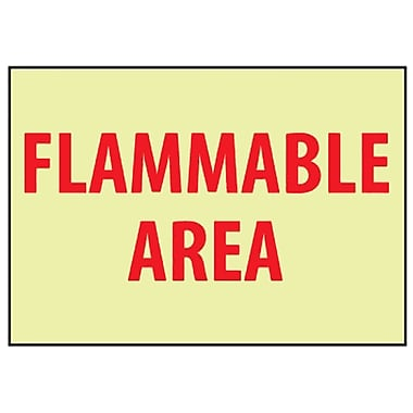 Fire, Flammable Area, 7