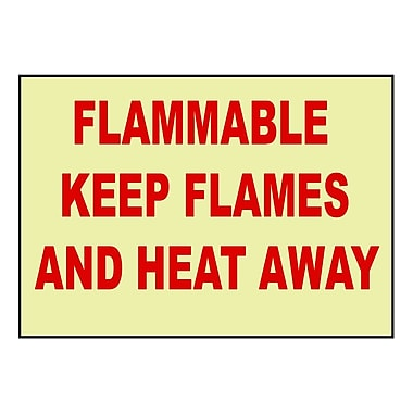 Fire, Flammable Keep Flames And Heat Away, 7