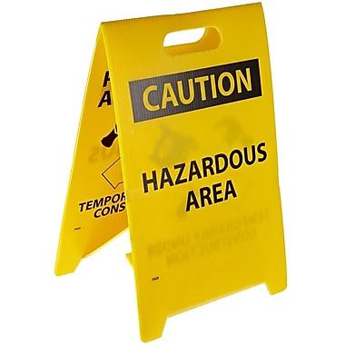 Floor Sign, Dbl Side, Pardon Our Appearance . . .Caution Hazardous Area, 20