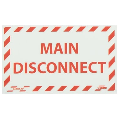Glow Labels-Main Disconnect, 3