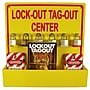 Lock-Out Tag-Out Center With 1 Pack Of Lotag