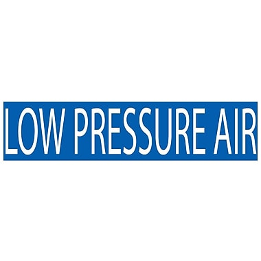 Pipemarker, Low Pressure Air, 2