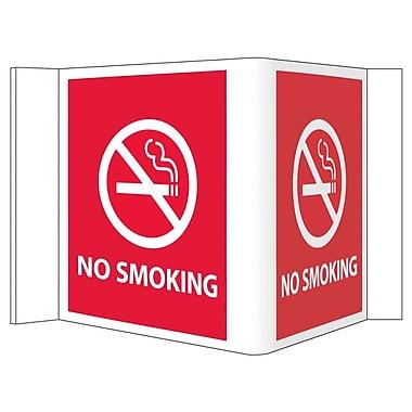 Visi Sign, No Smoking, Red, 8