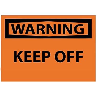 Warning, Keep Off, 3