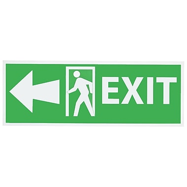 Exit with Door And Left Arrow, 5