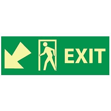 Exit with Door And Left Down Arrow, 5