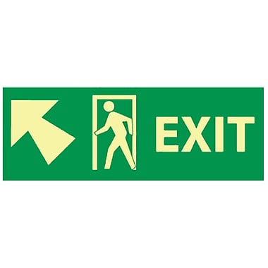 Exit with Door And Left Up Arrow, 5