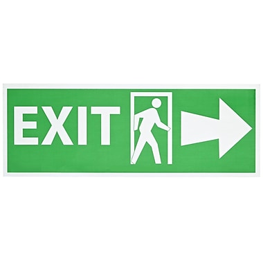 Exit with Door And Right Arrow, 5