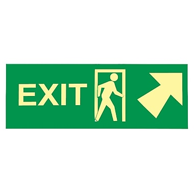 Exit with Door And Right Up Arrow, 5