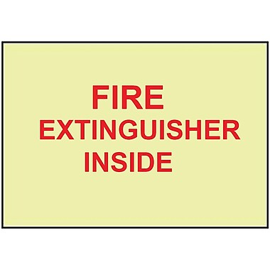 Fire, Fire Extinguisher Inside, 6