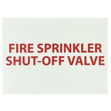 Fire, Fire Sprinkler Shut-Off Valve, 10
