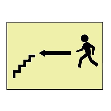 Stairs Left Arrow Man Graphic, 7