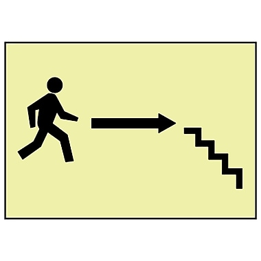 Stairs Right Arrow Man Graphic, 7