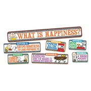 Eureka® Peanuts® Mini Bulletin Board Set, Happiness Is