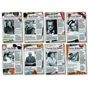 North Star Teacher Resources Bulletin Board Set, Civil Rights Pioneers