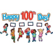 Teacher Created Resources Bulletin Board Display Set, Fireworks Happy 100th Day