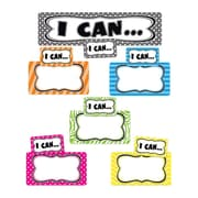 Teacher Created Resources Mini Bulletin Board Set, I Can...