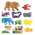 Little Folks Visuals Eric Carle Flannelboard Set, Brown Bear, Brown Bear, What Do You See?
