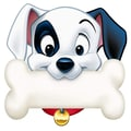 Eureka® 101 Dalmatians 5in. Paper Cut Outs, Dog Bone