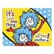 """Eureka® 17"""" x 22"""" Poster, Dr. Seuss™ One Thing After Another"""