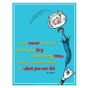 "Eureka® 17"" x 22"" Poster, Dr. Seuss™ Try Something New"