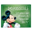 """Eureka® 17"""" x 22"""" Poster, Mickey® Possible"""