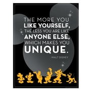 "Eureka® 17"" x 22"" Poster, Mickey® Unique"