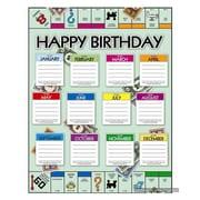 """Eureka® 17"""" x 22"""" Poster, Monopoly™ Birthday"""