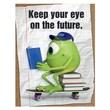 "Eureka® 17"" x 22"" Poster, Monsters University® Eye On The Future"